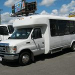 Ford E450 22 passenger charter shuttle coach bus for sale - Diesel 3