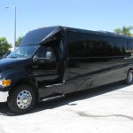 Ford F650 42 passenger charter shuttle coach bus for sale - Diesel 3