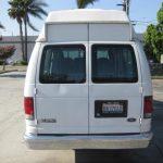 Ford E250 6 passenger charter shuttle coach bus for sale - Gas 4
