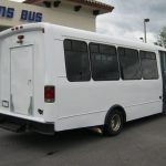 Ford E450 21 passenger charter shuttle coach bus for sale - Diesel 5