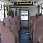 Ford E450 22 passenger charter shuttle coach bus for sale - Diesel 5