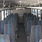 International UC 28 passenger charter shuttle coach bus for sale - Diesel 5