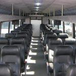 International TC 40 passenger charter shuttle coach bus for sale - Diesel 5