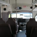 Ford E450 22 passenger charter shuttle coach bus for sale - Diesel 6