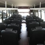 Ford F650 42 passenger charter shuttle coach bus for sale - Diesel 6
