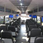International TC 40 passenger charter shuttle coach bus for sale - Diesel 6