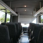 Ford F550 29 passenger charter shuttle coach bus for sale - Diesel 8