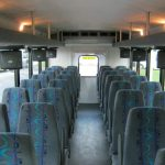 International UC 32 passenger charter shuttle coach bus for sale - Diesel 7