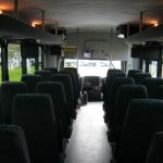 International UC 32 passenger charter shuttle coach bus for sale - Diesel 6