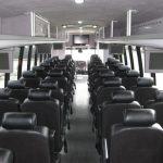 Freightliner M2 47 passenger charter shuttle coach bus for sale - Diesel 6