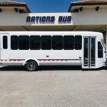 International UC 24 passenger charter shuttle coach bus for sale - Diesel 2