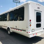 International UC 24 passenger charter shuttle coach bus for sale - Diesel 4