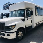 International UC 24 passenger charter shuttle coach bus for sale - Diesel 6