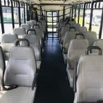 International UC 24 passenger charter shuttle coach bus for sale - Diesel 7