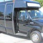 Ford E450 16 passenger charter shuttle coach bus for sale - Gas 1