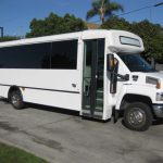 Chevy C5500 33 passenger charter shuttle coach bus for sale - 1