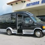 Ford E350 7 passenger charter shuttle coach bus for sale - Gas 1