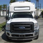 Ford F550 33 passenger charter shuttle coach bus for sale - Diesel 2