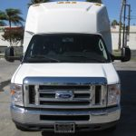Ford E350 16 passenger charter shuttle coach bus for sale - Gas 2