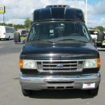 Ford E350 7 passenger charter shuttle coach bus for sale - Gas 2