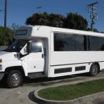 Chevy C5500 33 passenger charter shuttle coach bus for sale - 3