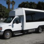 Ford E350 16 passenger charter shuttle coach bus for sale - Gas 3