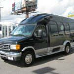Ford E350 7 passenger charter shuttle coach bus for sale - Gas 3