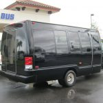 Ford E450 16 passenger charter shuttle coach bus for sale - Gas 5