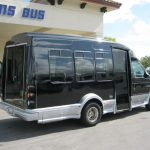 Ford E350 7 passenger charter shuttle coach bus for sale - Gas 5