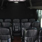 Ford E350 16 passenger charter shuttle coach bus for sale - Gas 5
