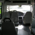 Ford E350 7 passenger charter shuttle coach bus for sale - Gas 7