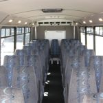 Ford F550 33 passenger charter shuttle coach bus for sale - Diesel 5