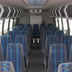 Ford F550 32 passenger charter shuttle coach bus for sale - Diesel 5