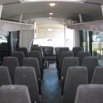 Chevy C5500 33 passenger charter shuttle coach bus for sale - 6