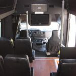Ford E350 16 passenger charter shuttle coach bus for sale - Gas 6