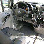 Mercedes 3500 14 passenger charter shuttle coach bus for sale - Diesel 8