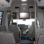 Ford E450 16 passenger charter shuttle coach bus for sale - Gas 6