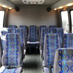 Ford E450 16 passenger charter shuttle coach bus for sale - Gas 4