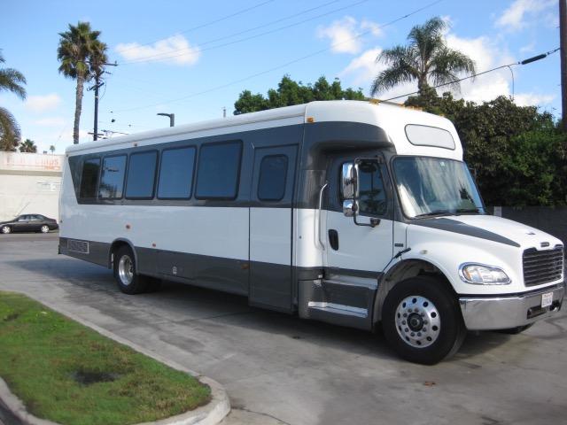 Freightliner M2 36 passenger charter shuttle coach bus for sale - Diesel