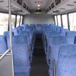 Freightliner M2 36 passenger charter shuttle coach bus for sale - Diesel 7