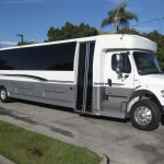 Freightliner M2 47 passenger charter shuttle coach bus for sale - Diesel 1