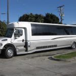 Freightliner M2 47 passenger charter shuttle coach bus for sale - Diesel 3
