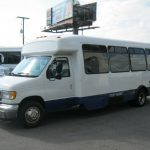 Ford E450 25 passenger charter shuttle coach bus for sale - Diesel 3