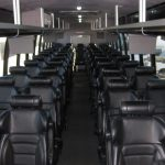 Freightliner M2 47 passenger charter shuttle coach bus for sale - Diesel 6