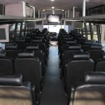 Freightliner M2 47 passenger charter shuttle coach bus for sale - Diesel 7