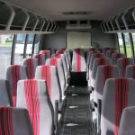 Ford F550 32 passenger charter shuttle coach bus for sale - Diesel 6