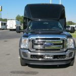 Ford F550 27 passenger charter shuttle coach bus for sale - Diesel 3