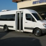 Freightliner 15 passenger charter shuttle coach bus for sale - Diesel 1