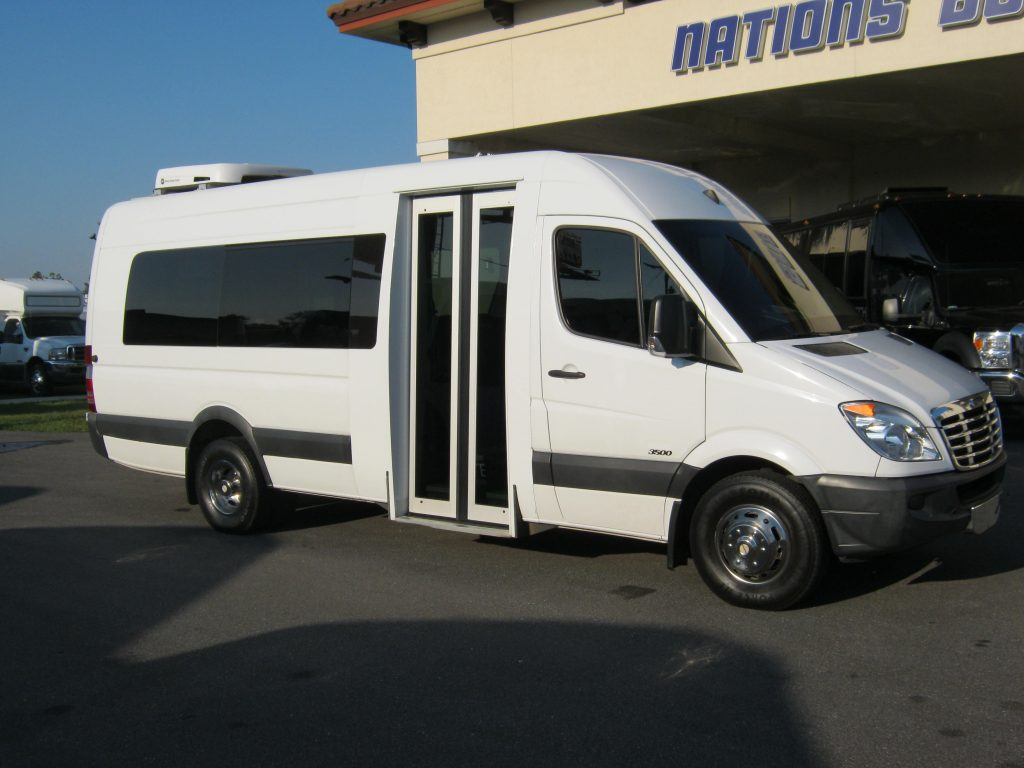 Freightliner 15 passenger charter shuttle coach bus for sale - Diesel