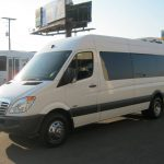Freightliner 15 passenger charter shuttle coach bus for sale - Diesel 2